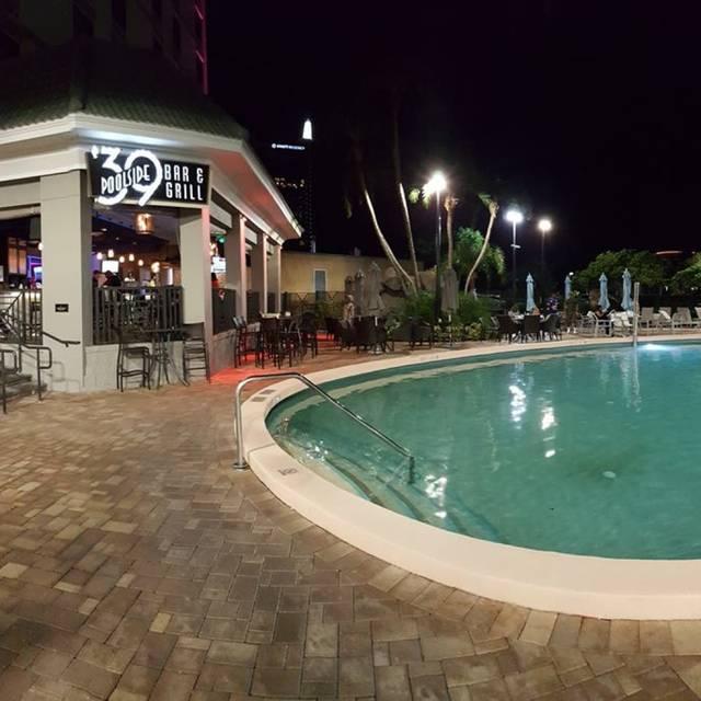 39 Poolside Bar & Grill Restaurant - Orlando, FL | OpenTable