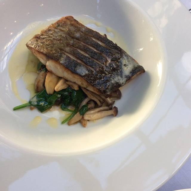 Stone Bass - The River Grille, Bristol