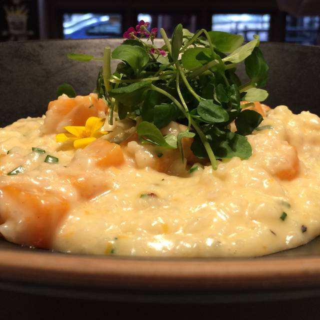 Butternut Squash Risotto - The River Grille, Bristol