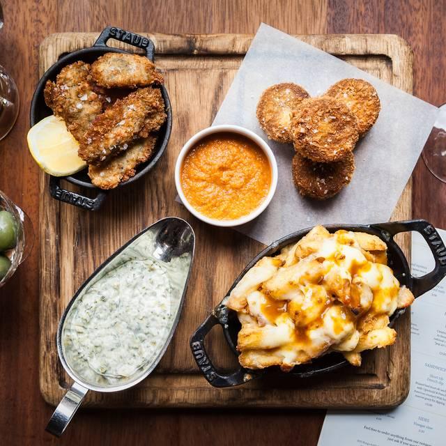 Bar Food Combo - Hawksmoor Spitalfields Bar, London