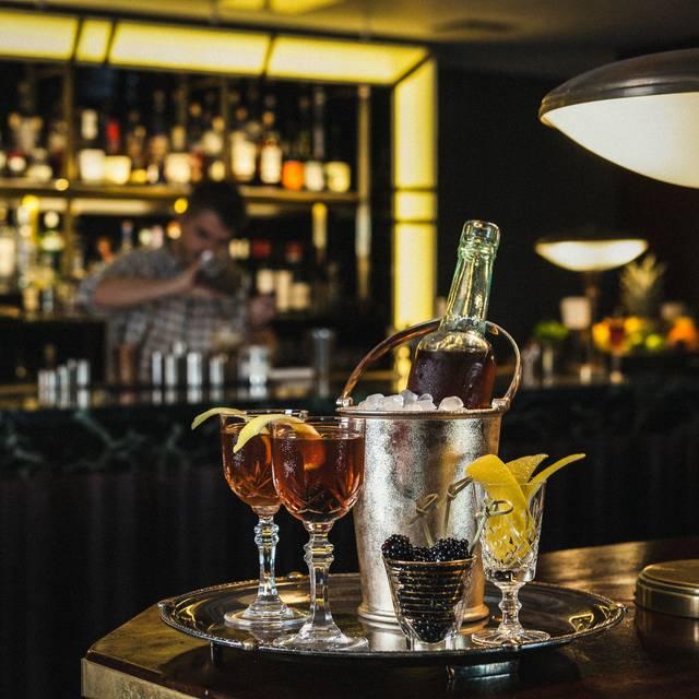 Bottle of Marble Hill - Hawksmoor Spitalfields Bar, London