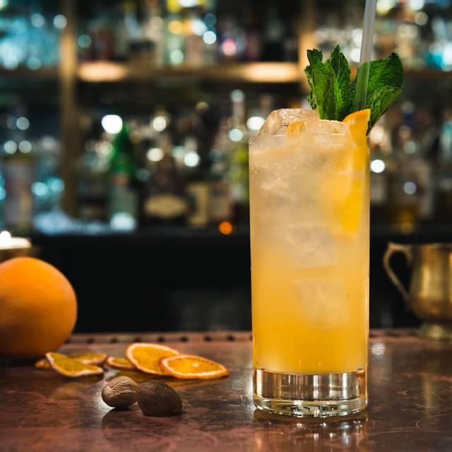 Cup Of Gold - Hawksmoor Spitalfields Bar, London