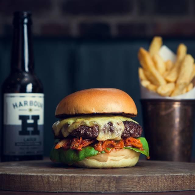 Kimchi Burger - Hawksmoor Spitalfields Bar, London