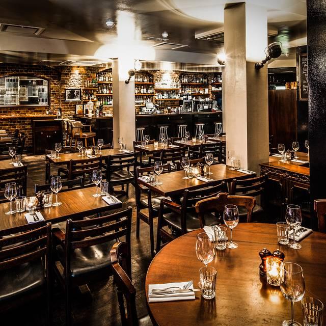Spitalfields Restaurant - Hawksmoor Spitalfields, London