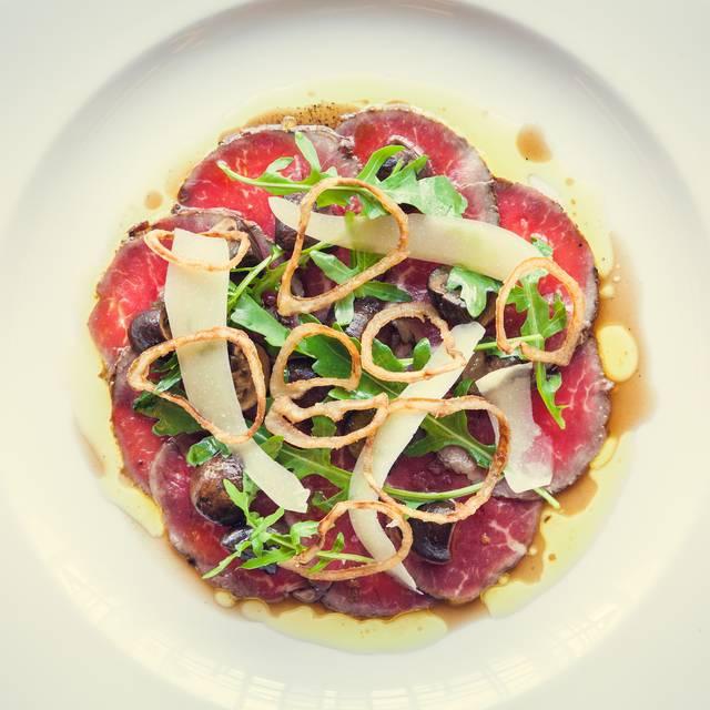 Beef Carpacio - Hawksmoor Seven Dials, London