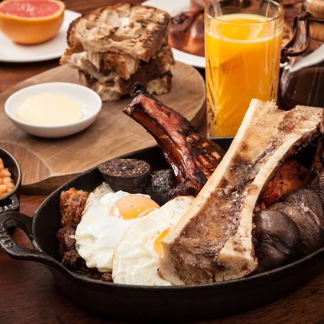 Breakfast for Two - Hawksmoor Guildhall, London