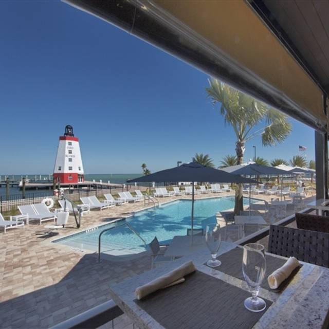 Lighthouse Grill - Faro Blanco Resort & Yacht Club, Marathon, FL