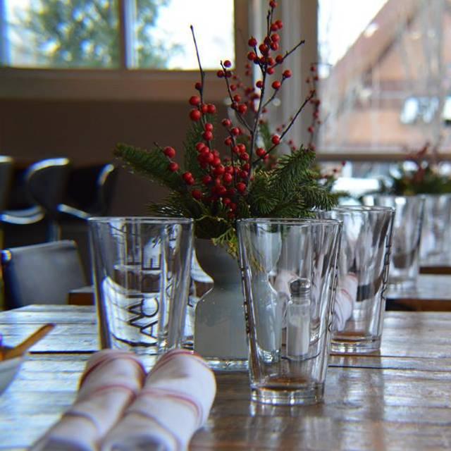 Empty Seat Awaits - Wise Acre Eatery, Minneapolis, MN