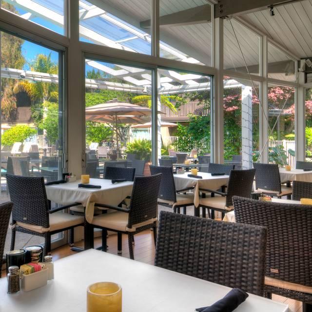 Poolside - Dinah's Poolside Restaurant, Palo Alto, CA