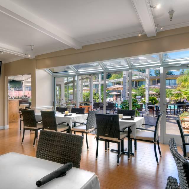 Fireside Room - Dinah's Poolside Restaurant, Palo Alto, CA