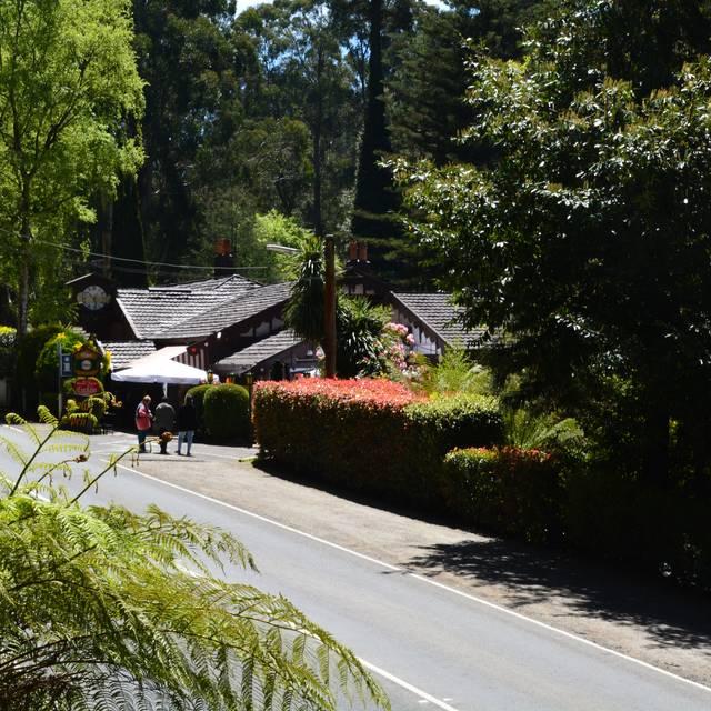 The Cuckoo in summer - Cuckoo Restaurant, Olinda, AU-VIC