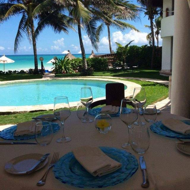 Lunch At Pavo - Pavo Real by the Sea, Playa del Carmen, ROO
