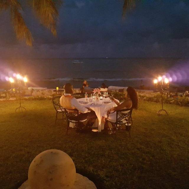 Romantic Dinner - Pavo Real by the Sea, Playa del Carmen, ROO