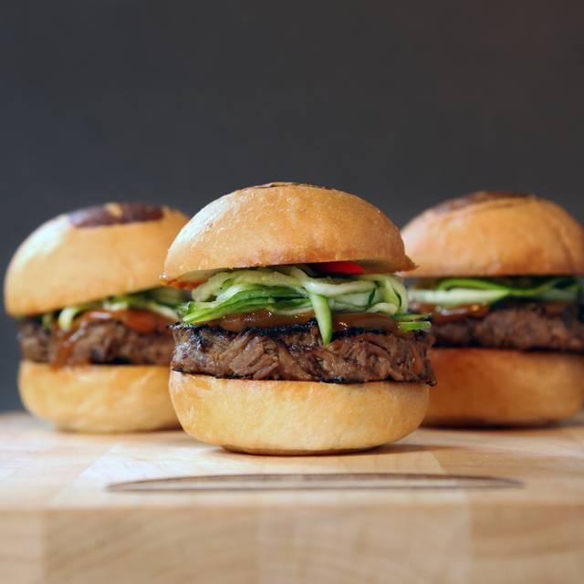 Short Rib Sliders - Umami Burger - Broadway, Los Angeles, CA