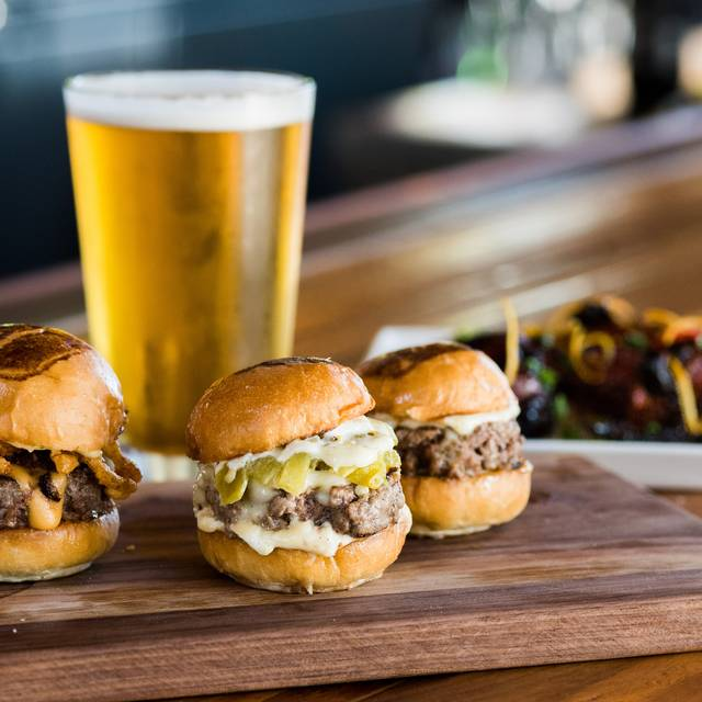 Slider Trio - Umami Burger - Costa Mesa, Costa Mesa, CA