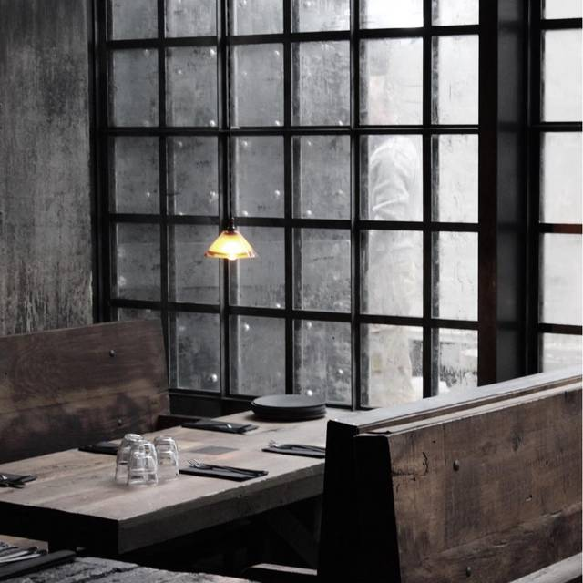 inside table - SMOKESTAK, London