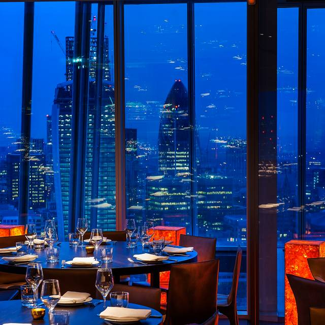 Oblix west restaurant london opentable for Restaurants at the shard