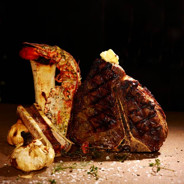 Lobster Lemon Verbena & Garlic Butter  + Bone In Rib-eye For Two - Oblix West, London