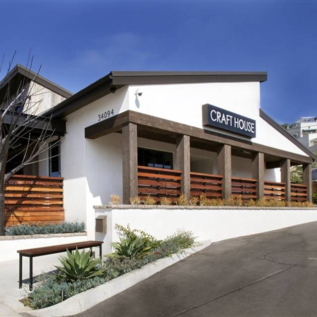 craft house dana point restaurant dana point ca opentable