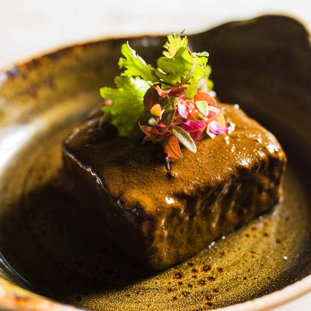 Braised Short Rib With Cacao Broth - Comal Restaurant & Bar - Chileno Bay Resort & Residences, Cabo San Lucas, BCS
