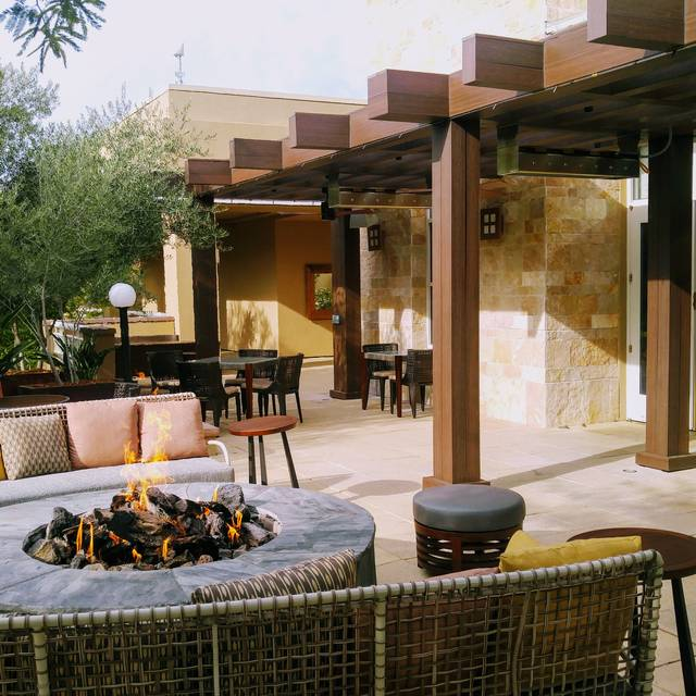 Meritage Firepit Patio - Meritage an Urban Tavern at the JW Marriott Desert Ridge Resort & Spa, Phoenix, AZ