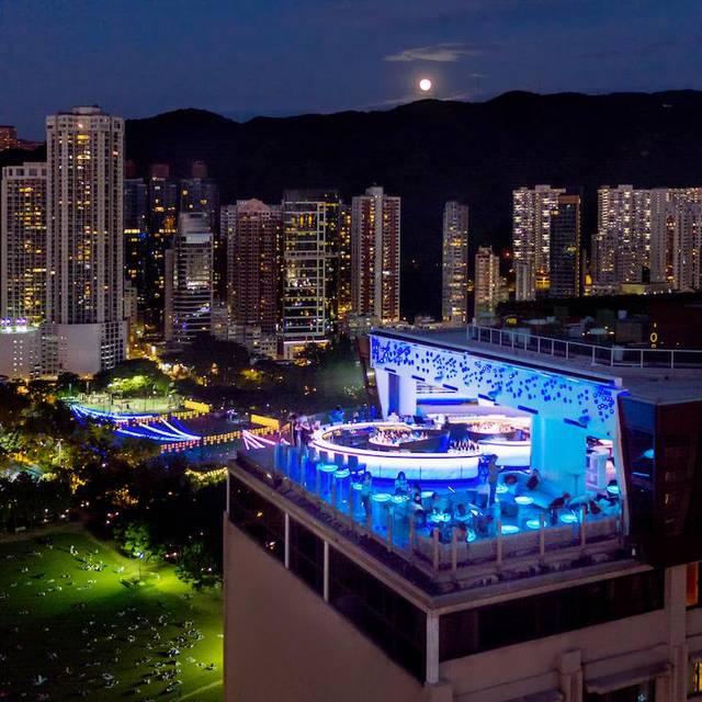 Skye-outdoor-bar- - Skye - The Parklane Hong Kong, a Pullman Hotel, Hong Kong, Hong Kong