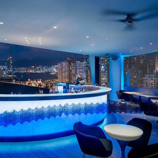 Skye-bar - Skye - The Parklane Hong Kong, a Pullman Hotel, Hong Kong, Hong Kong