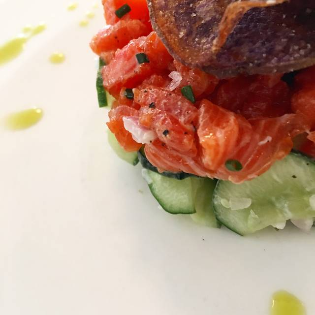 Sockeye Salmon Crudo - Restaurant North, Armonk, NY