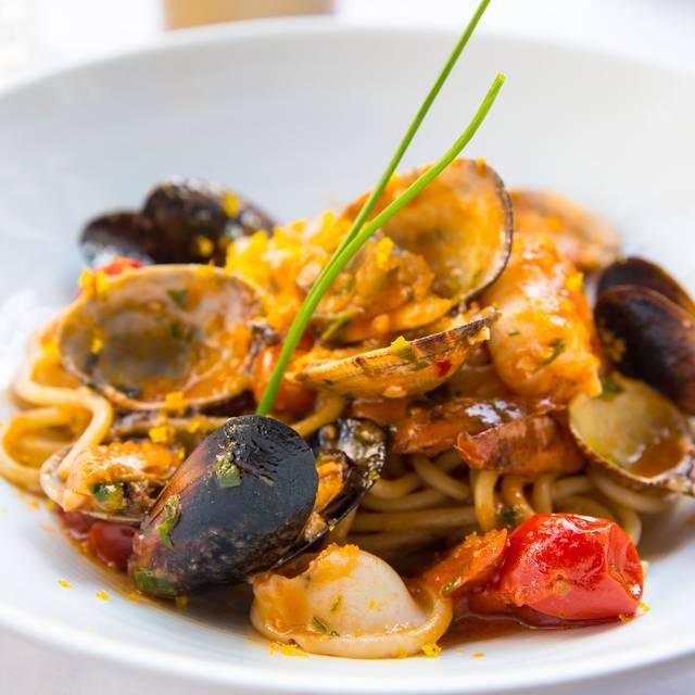 Spaghetti Scoglio - Carne Prima Italian Steakhouse, San Diego, CA