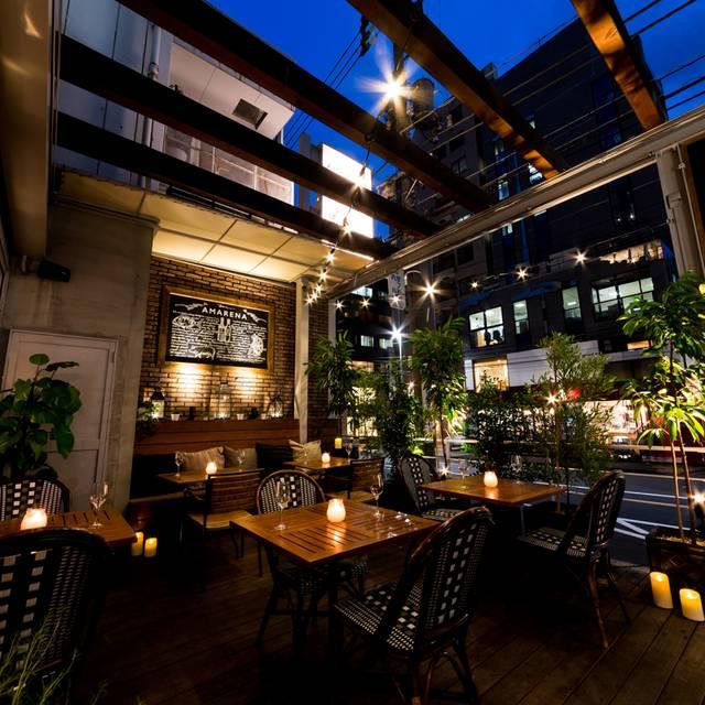 Ballower terrace aoyama minato ku tokyo opentable for Terrace cafe opentable