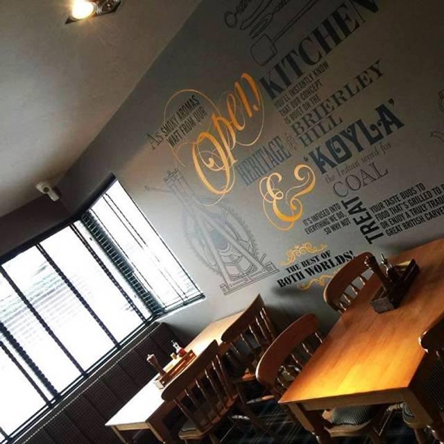 Koyla - Koyla Kitchen at The Thorns, Dudley, West Midlands