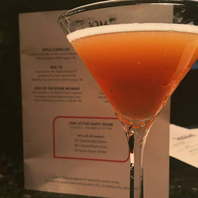 Kiss Of The Spider Woman, Featuring Cinnamon-infused Bacardi Select Rum! - Skydome Restaurant, Arlington, VA