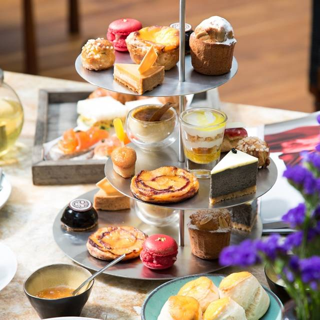 Afternoon Tea Set - The Courtyard at The House on Sathorn, Bang Rak, Bangkok
