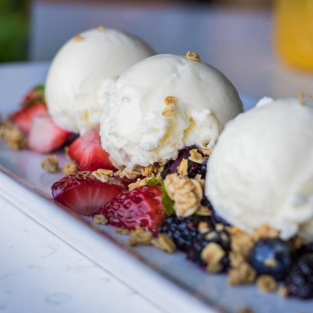 Berries & Cream - Hart's Table & Bar, Edmonton, AB