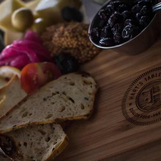 Cheese Board - Hart's Table & Bar, Edmonton, AB