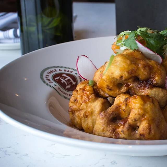 Cauliflower - Hart's Table & Bar, Edmonton, AB