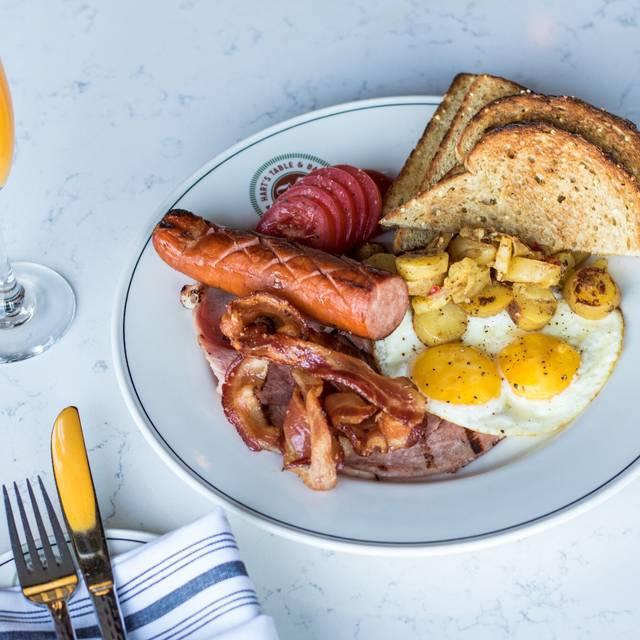 Bacon & Eggs - Hart's Table & Bar, Edmonton, AB