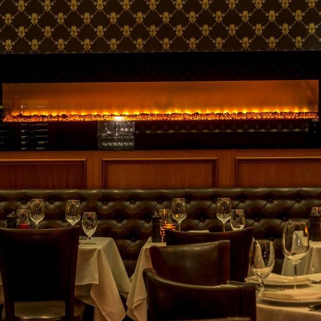 Fireplace - Royal 35 Steakhouse, New York, NY