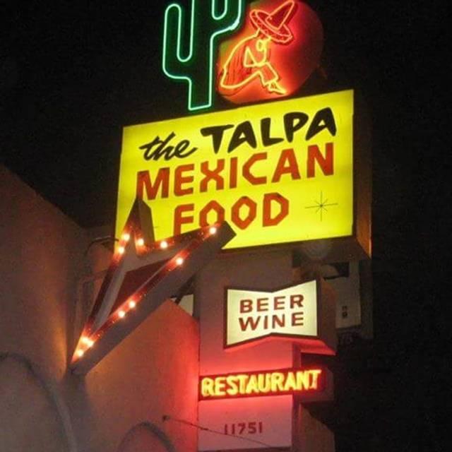 The Talpa Restaurant, Los Angeles, CA