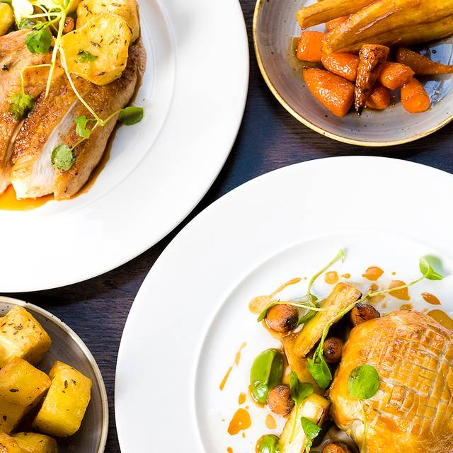 Roast Dishes - The Refectory Kitchen & Terrace, York, North Yorkshire