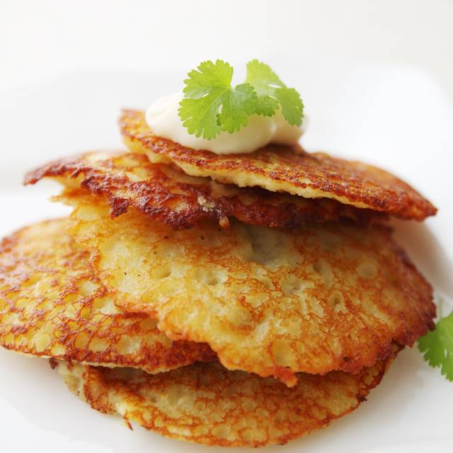 Potato Pancakes - Edelweiss Restaurant, Norridge, IL