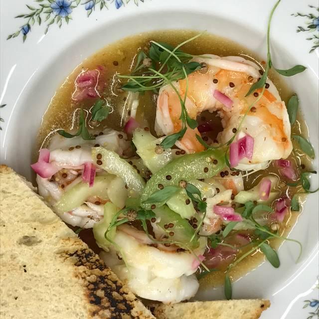 Pickled Shrimp - Opal's Table, Midland, TX