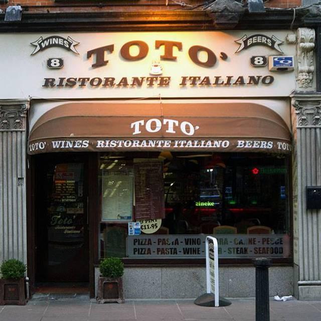 Toto Ristorante Italiano, Dublin, Co. Dublin
