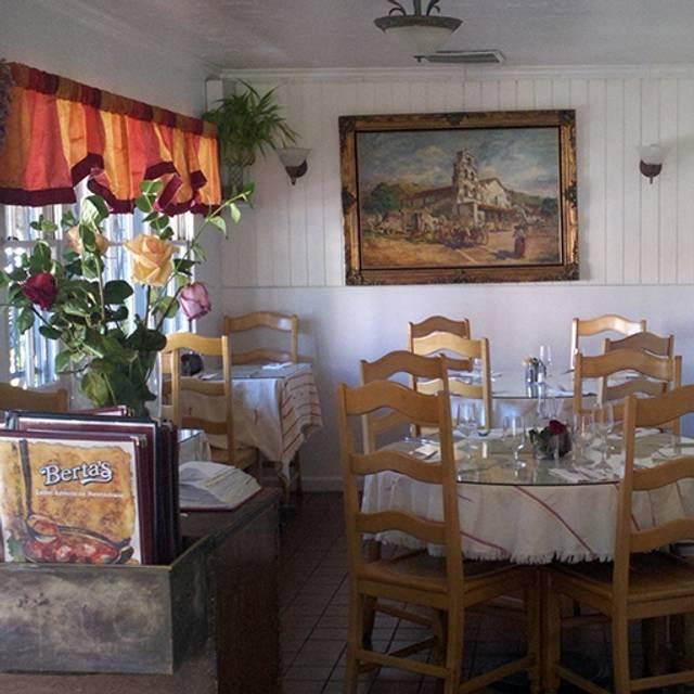 Berta 39 s latin american restaurant restaurant san diego for American cuisine san diego