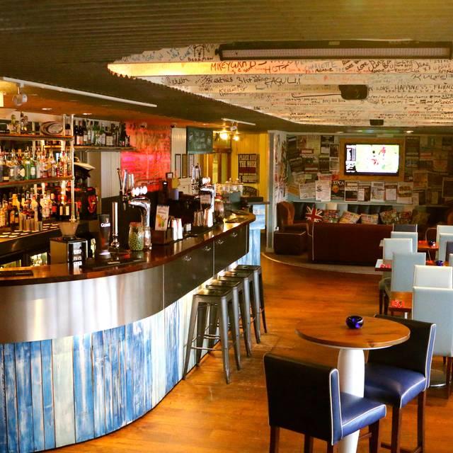Island Street Bar & Grill, Salcombe, Devon