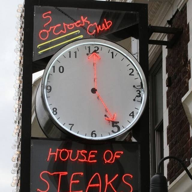 Five O'Clock Steakhouse, Milwaukee, WI