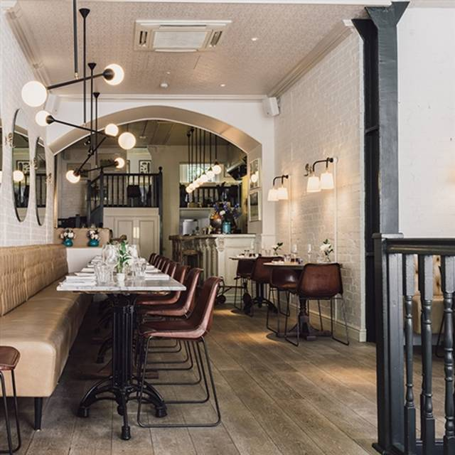 NAC (North Audley Cantine), London