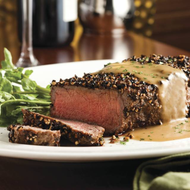 Steak Au Poivre - The Capital Grille - Houston, Houston, TX