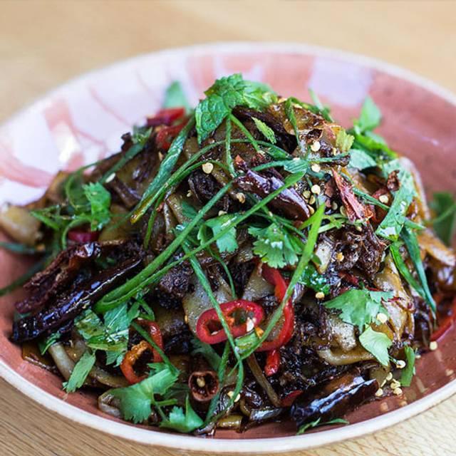 Lamb noodles - Red Spice QV, Melbourne, AU-VIC