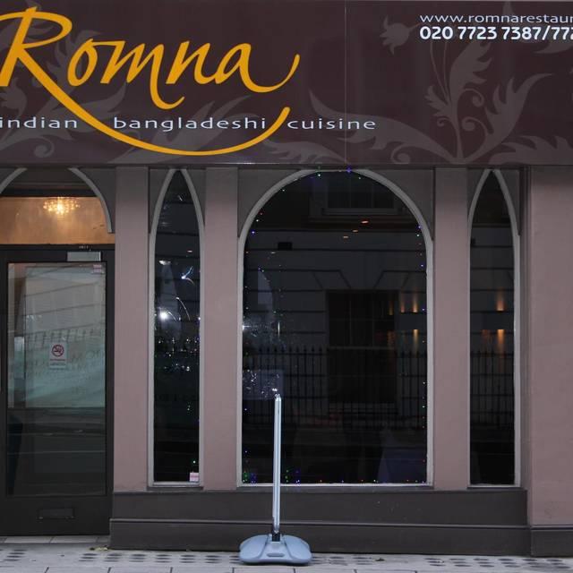 Romna Restaurant, London